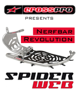 Predator 500 Spiderweb Nerfbars Ice Polish